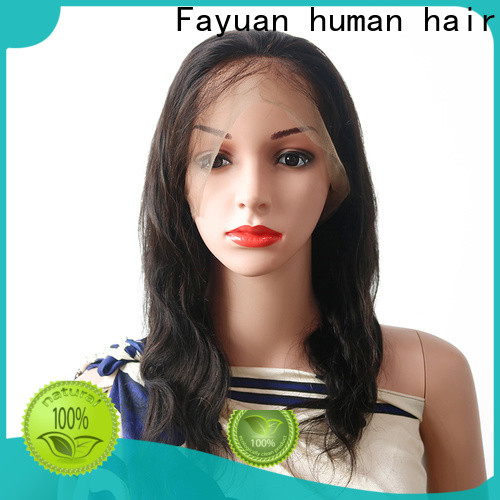 Fayuan Hair virgin good full lace wigs Suppliers for selling