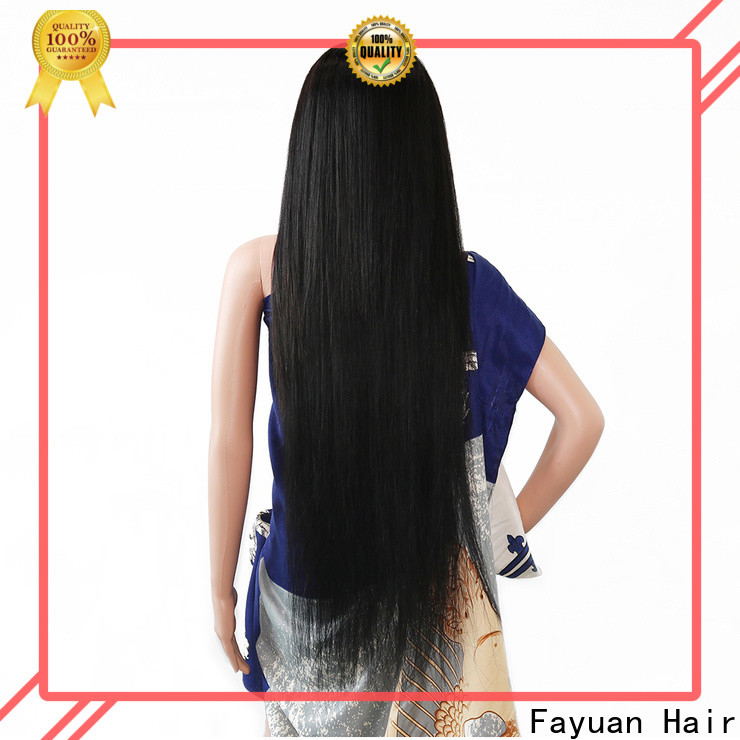 Fayuan Hair holiday custom human wigs company for women