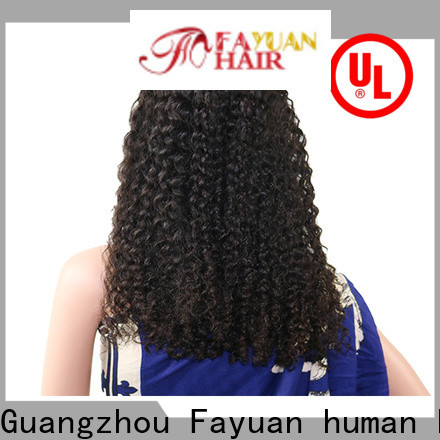 Fayuan Hair lace best place to buy lace front wigs factory for men