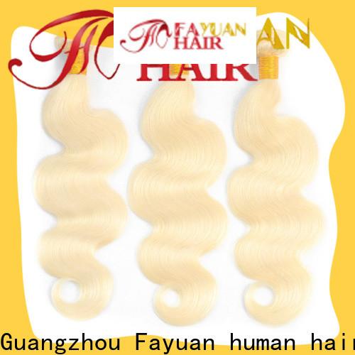 Fayuan Hair Best wholesale brazilian hair company for street