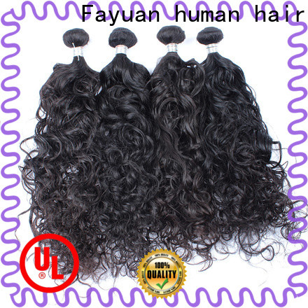Fayuan Hair Latest malaysian natural wave weave Supply for women