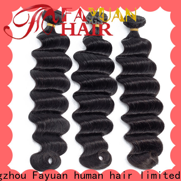Fayuan Hair Best curly hair extensions factory for men