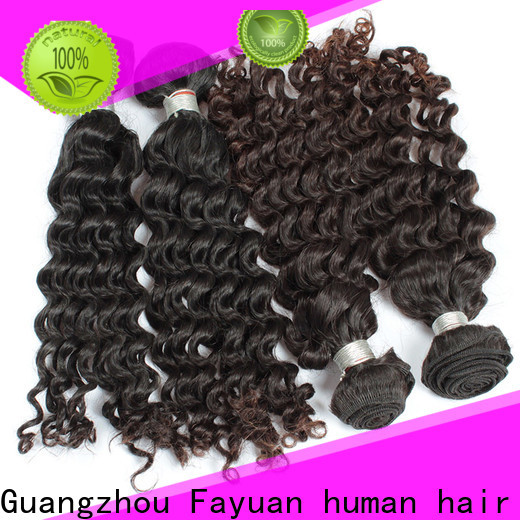 Fayuan Hair hair malaysian curly hair wig Supply for women