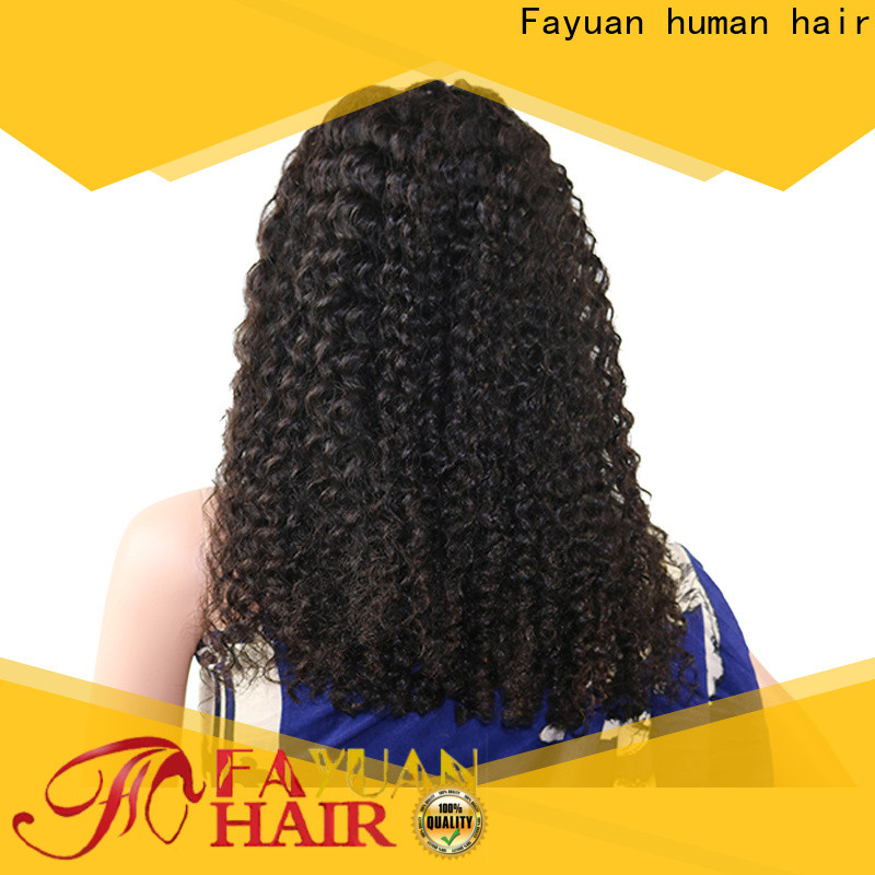 Fayuan Hair Top best quality lace front wigs factory for black women