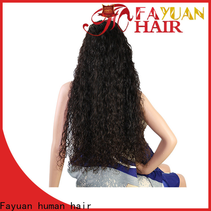 Fayuan Hair High-quality customize your own wig company for women