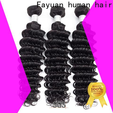 Fayuan Hair Custom peruvian hair extensions wholesalers company for barbershop