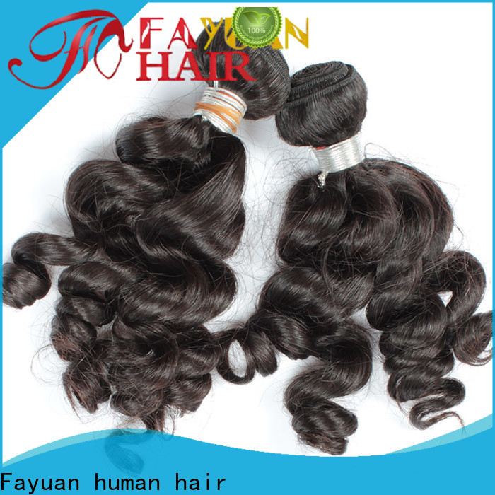 Fayuan Hair High-quality virgin hair vendors in india Supply for men