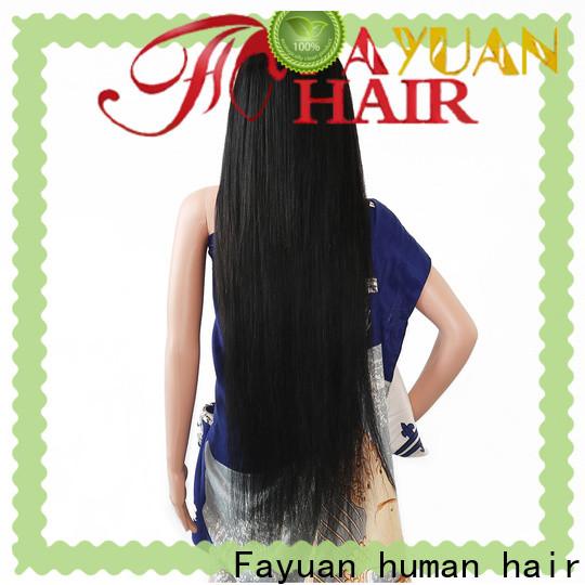 Fayuan Hair hair custom human wigs for business for men