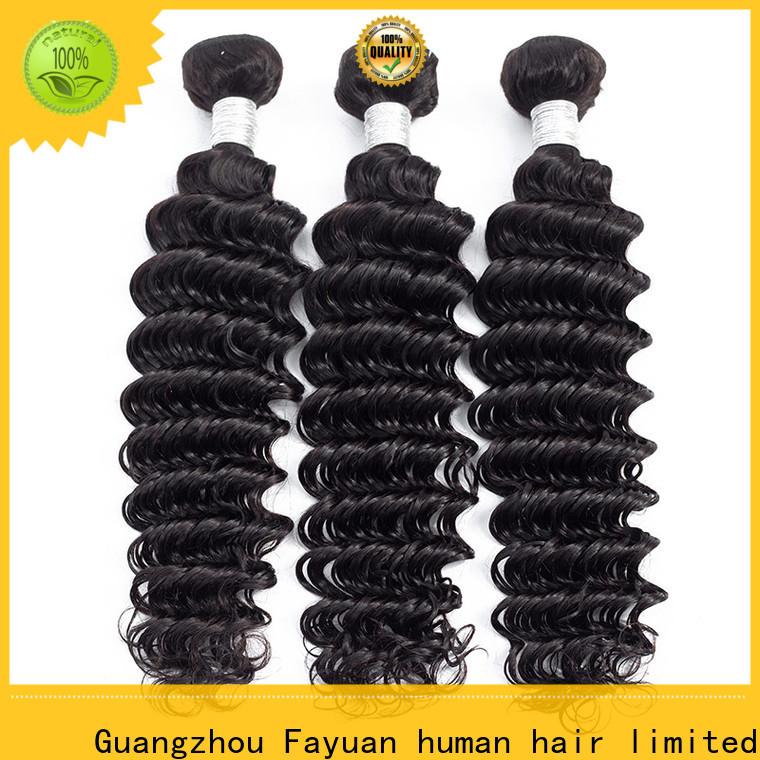 Fayuan Hair body peruvian hair weave factory for men