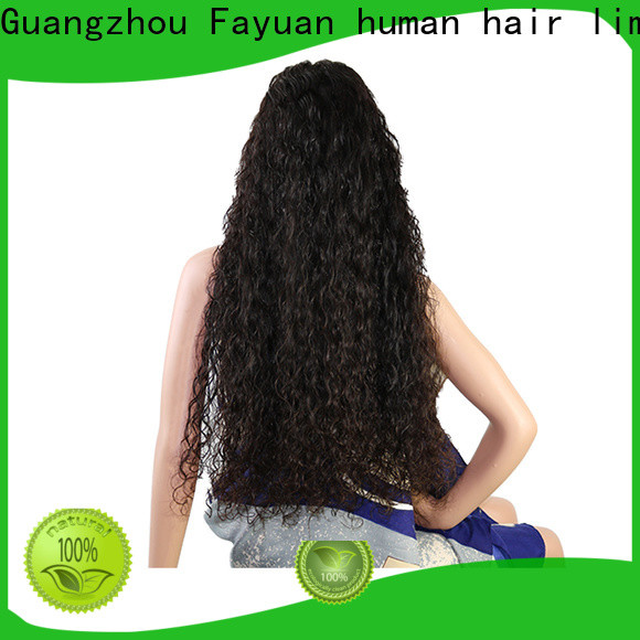 Latest custom order lace wigs deep company for street
