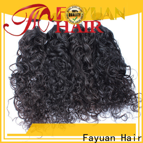 Fayuan Hair Latest best malaysian curly hair factory for barbershopp