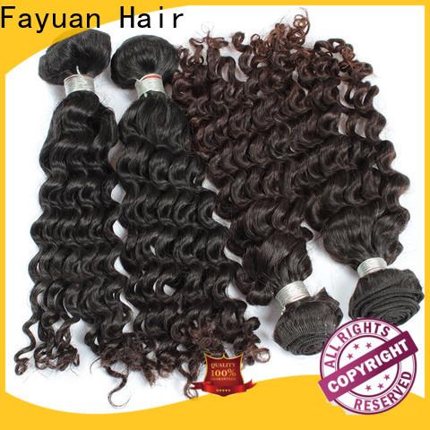 Fayuan Hair Custom malaysian hair vendors for business for women