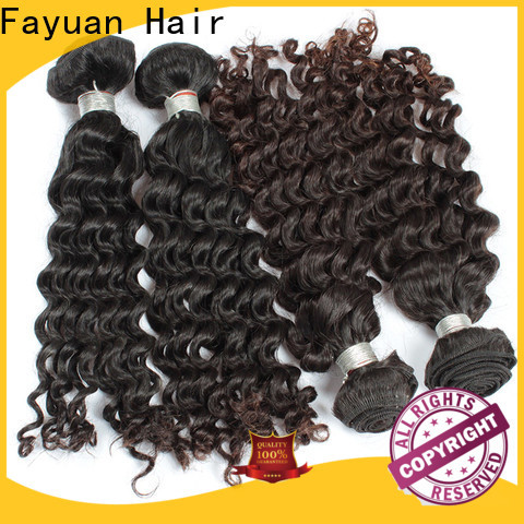 Fayuan Hair Custom malaysian hair vendors for business for women