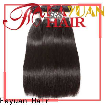 Fayuan Hair Top brazilian human hair extensions for business for men
