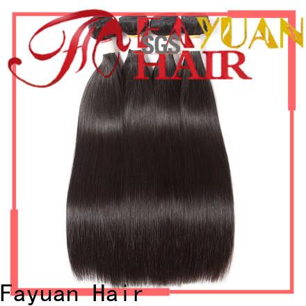Fayuan Hair Top brazilian human hair extensions for business for men