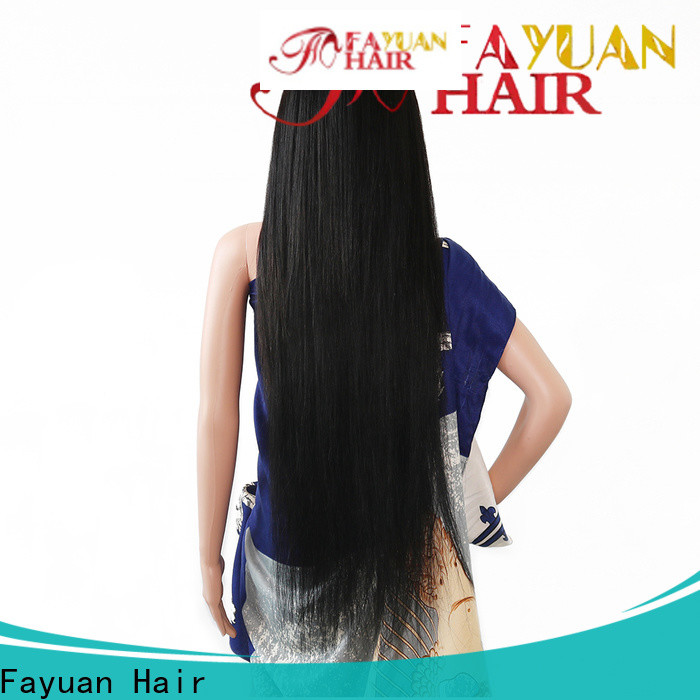 Fayuan Hair High-quality custom wig makers factory for men