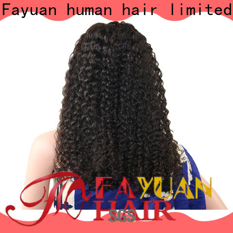Fayuan Hair curly lace wig company for street