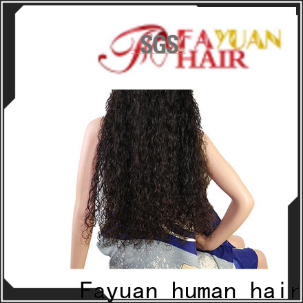 Fayuan Hair hair best custom wigs for business for street