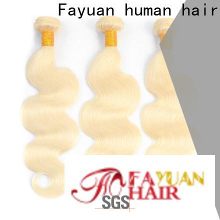 Fayuan Hair body brazilian hair website manufacturers for women