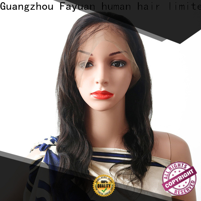 Fayuan Hair Top cheap lace front wigs Supply for men