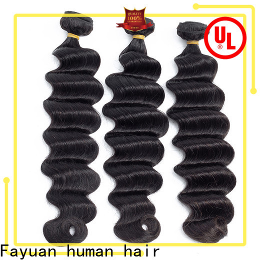 Fayuan Hair indian indian curly hair extensions factory for men