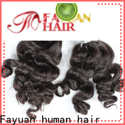 Fayuan Hair virgin indian remy hair company for barbershop