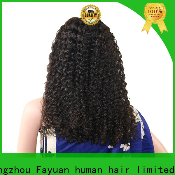 Fayuan Hair Top good lace front wigs company for women
