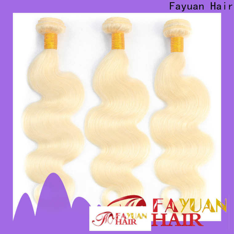 Fayuan Hair straight brazilian curly company for selling
