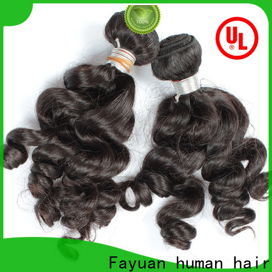 Fayuan Hair Best hair factories in india Supply for women