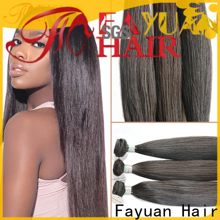 Fayuan Hair unprocessed curly full lace wig factory for street