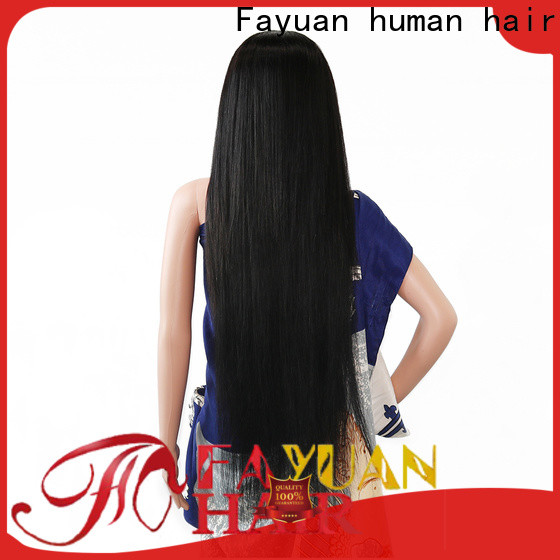 Fayuan Hair Latest custom made wigs for sale company for street