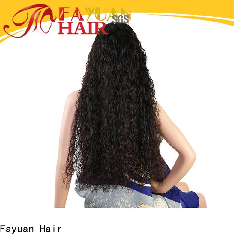 Fayuan Hair New custom virgin hair wigs Suppliers for women