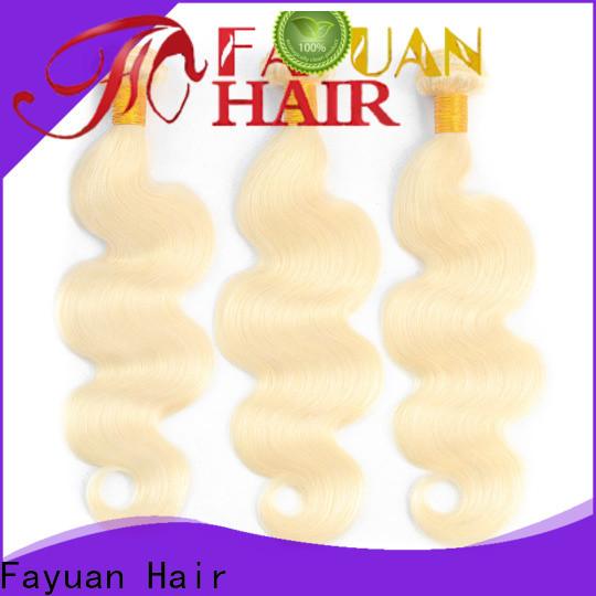 Fayuan Hair hair cheap brazilian human hair bundles manufacturers for men