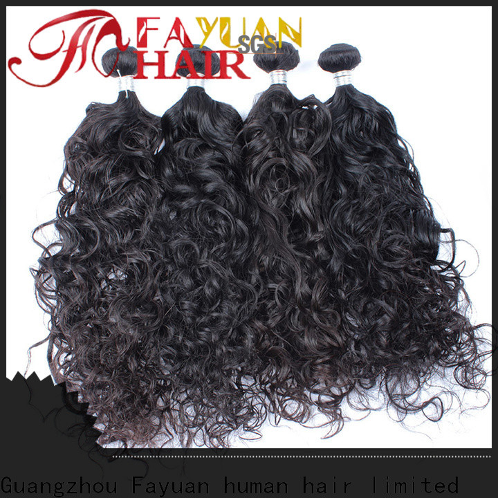 Fayuan Hair hair malaysian natural wave weave manufacturers for women