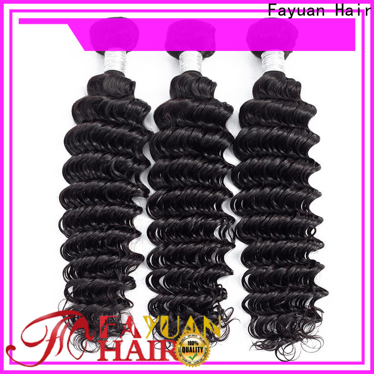 Fayuan Hair grade peruvian hair weave for business for street