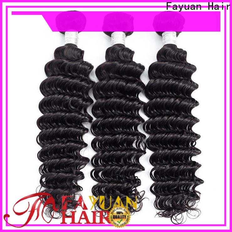 Fayuan Hair grade peruvian hair weave for business for street