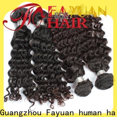 Fayuan Hair hair malaysian hair weave for sale company for selling