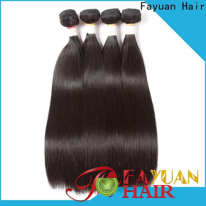 Wholesale brazilian wavy hair straight factory for street
