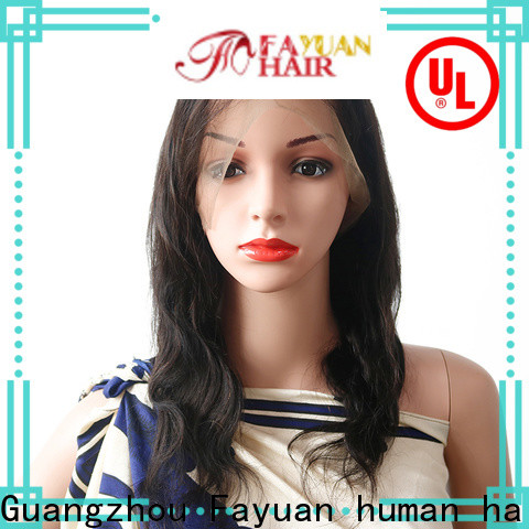 Fayuan Hair human where can i buy a full lace wig factory for barbershop