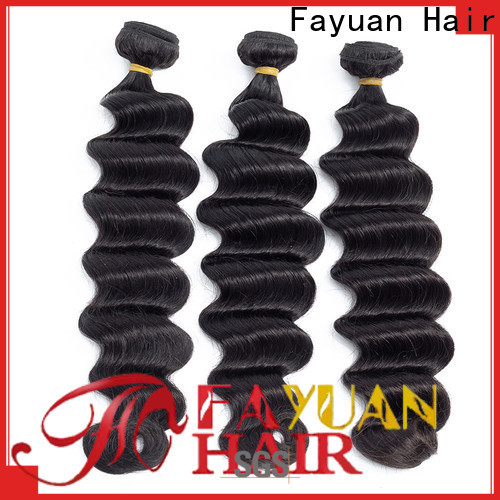 Fayuan Hair High-quality indian curly hair weave manufacturers for street