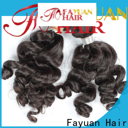 Fayuan Hair Custom indian hair weave for cheap Supply for selling