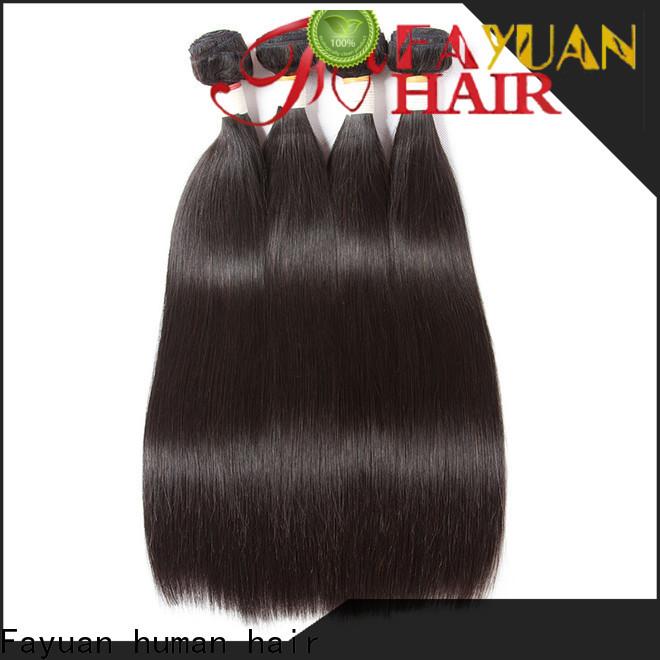 Fayuan Hair Wholesale virgin brazilian hair extensions Supply for men