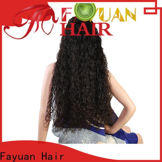Fayuan Hair Best custom made full lace wigs factory for barbershop