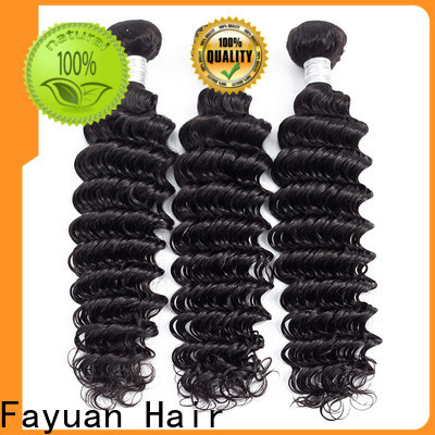Fayuan Hair Custom hair extensions peruvian Suppliers for selling