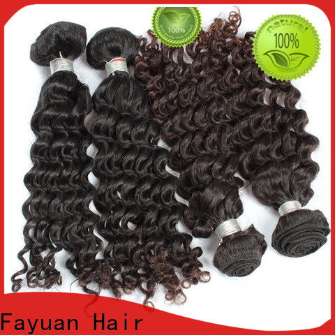 Fayuan Hair virgin malaysian curly hair wig company for street