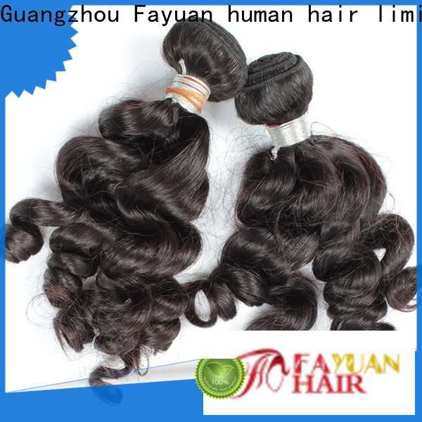 Fayuan Hair Latest indian hair extensions wholesale Suppliers for women