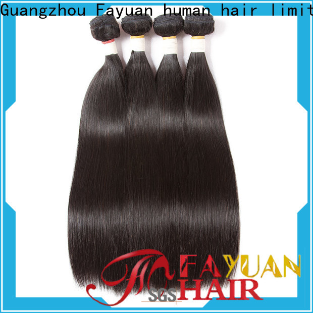 Fayuan Hair Best brazilian hair extensions for sale company for men