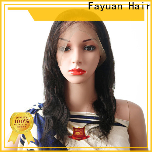 Fayuan Hair full full lace wigs online manufacturers for men