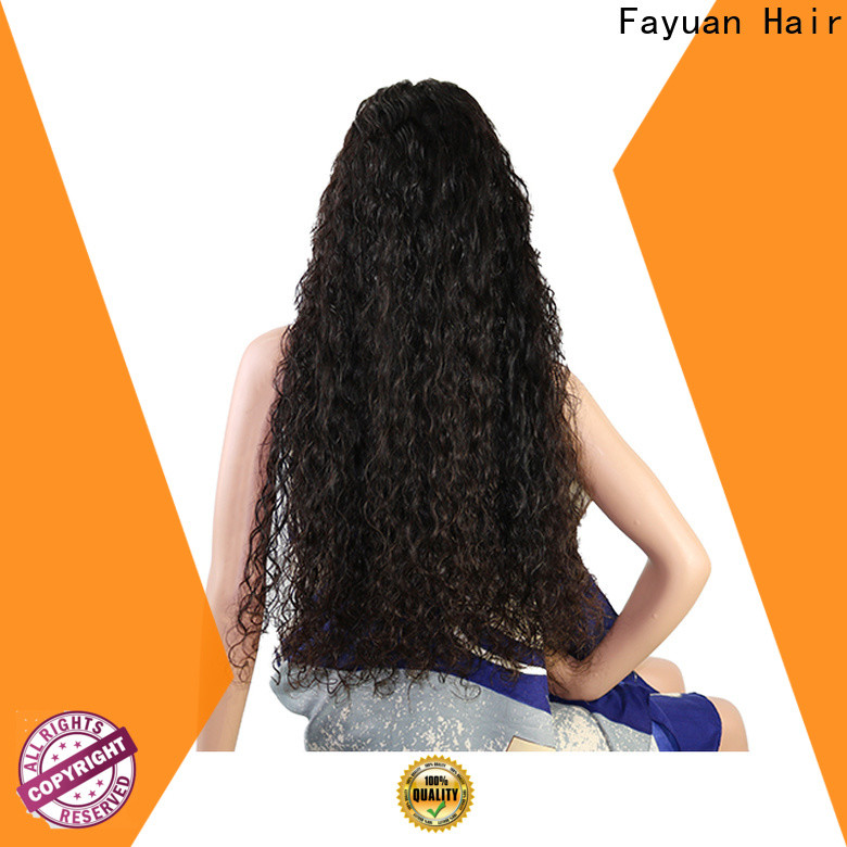 Fayuan Hair High-quality custom wig shop company for selling