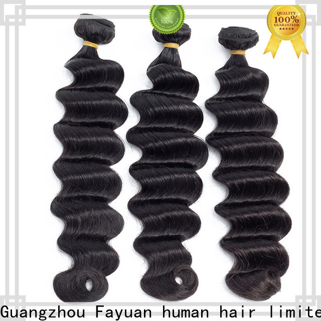 Fayuan Hair virgin indian hair wigs Suppliers for barbershop